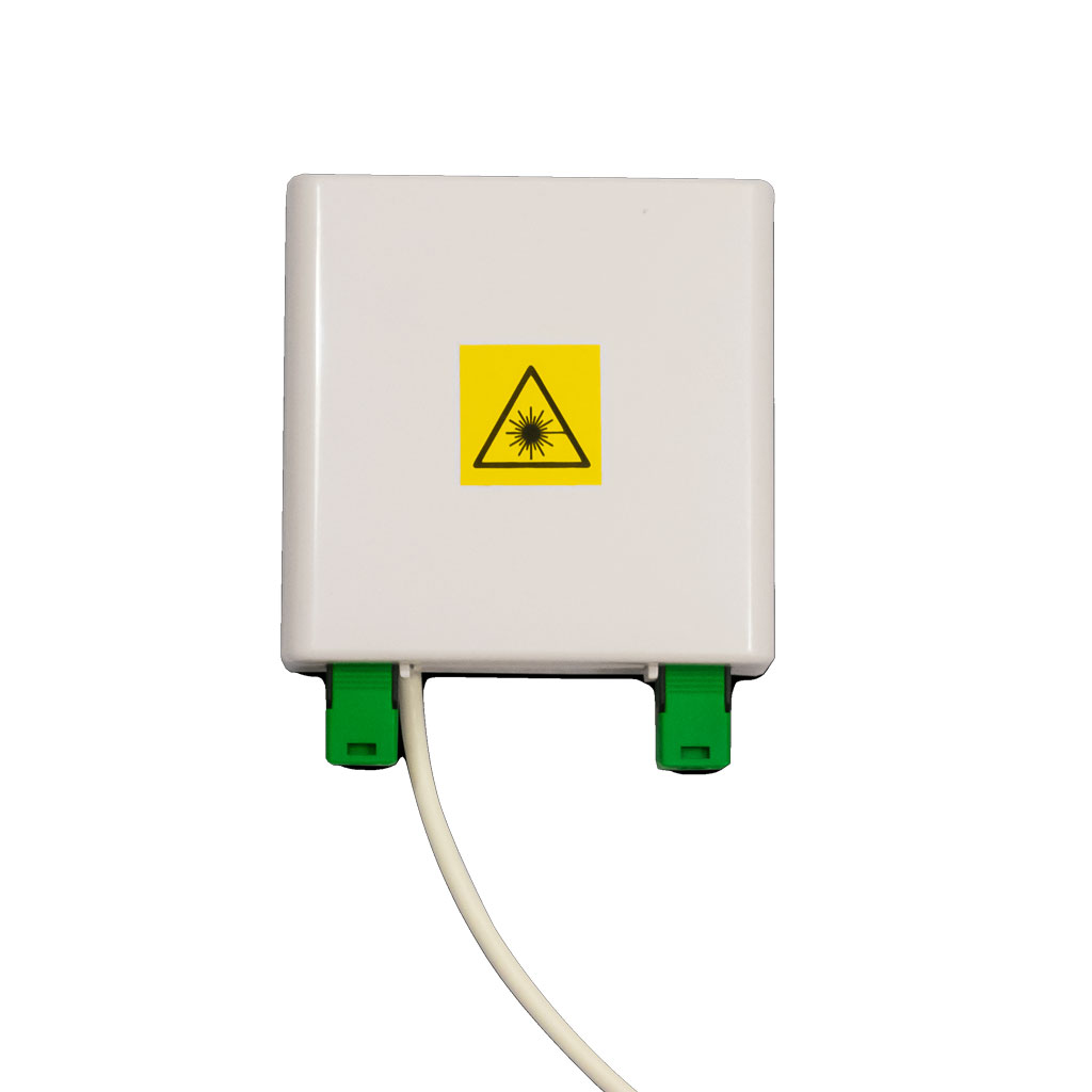 F2X® Wall-Mounted Fibre Optic Outlet
